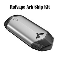 Wholesale locking battery box - RofVape Ark Ship Kit Electronic Cigarettes Kits Aluminum alloy Vaporizer 2200mAh Battery New Shape vape Kit With Child Lock Box Mod