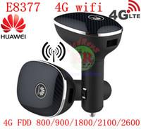 ingrosso espansore di gamma di router di rete wireless-router CPE 4g sbloccato per auto Huawei CarFi E8377 Hilink LTE Hotspot 4G LTE Cat5 12V router auto WiFi fdd all band pk e8278 e8372