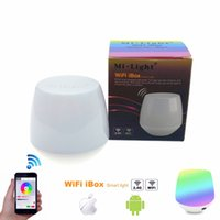 Wholesale Control Dimmer Android - 2.4G MiLight Wifi iBox Controller for RGBW RGB White WW Mixed Color Dimming Mi-Light Wifi RF Remote Control suit for IOS Android