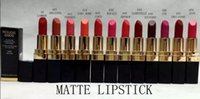 Wholesale best selling lipsticks for sale - Group buy 12 new Products Best Selling Makeup matte lipstick