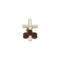 Wholesale forget gifts for sale - The World War Bedges with Soldier and Cross Anniversary Never Forget Souvenir Pin Badge for Clothing