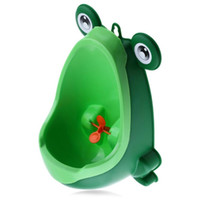 Wholesale Baby Frog - New Arrival Baby Boy Potty Toilet Training Frog Children Stand Vertical Urinal Boys Penico Pee Infant Toddler Wall-Mounted