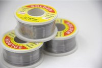 Wholesale Cheap Solders - Wholesale 20PCS Cheap price 63 37 Tin 1mm Rosin Core Tin Lead Rosin Roll Flux Solder Wire Reel Brand New