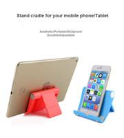 telefon çevirme standı toptan satış-Apple iPad iPhone Nokia Samsung Android Cep Telefonu ve Tablet Standı için Cep Telefonu Standı Tutucu 270Degree Döndür