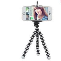 stativ flexibler oktopus für digitalkamera großhandel-Großhandels-flexibler Krake-Digitalkamera-Stativ-Halter für Handy-Zubehör-Stand-Anzeigen-Stützgroße Größe
