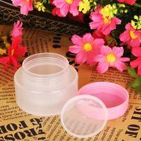 Wholesale Plastic Container For Facial - 30g plastic cream jar for cream ,gel facial scrub body scrub mask cream container ,30g small cosmetic container F2017444