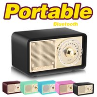 Wholesale Classic Phone Mp3 - AIBIMY MY100BT Retro Bluetooth Speaker Outdoor Indoor Portable Mini Speaker Fashion Classic Wireless Speaker 2.0 Stereo BT calls