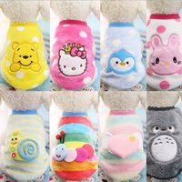 Wholesale Dog Clothes Coat Hoodies - XXS-XXL Fleece Pet Dog Clothes Coat Jacket Puppy Small Dogs Clothing Cat Costume Apparel Hoodies Chihuahua Yorkie Warm
