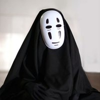 spirits halloween costumes - Japanese Anime Cosplay Spirited Away No Face Man Cosplay Halloween Carnival Japanese Anime Cosplay Classic Cartoon Costumes