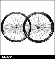 Wholesale Wheelset Clincher China - Best selling 3K Weave Flcrum 50mm carbon wheels Made in China carbon alloy wheels glossy matte bike wheelset clincher Free shipping