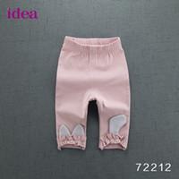 Wholesale Girls Panty Wear - Idea of children's wear the new 2017 summer panty girls leggings children cotton pants Lovely girl 7 minutes of pants
