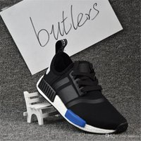 Wholesale Dark Red Table Runners - With Box 2017 NMD Runner PK Running Shoes Men Women Boost New Cheap Primeknit Sneakers Dark Grey Free Drop Shipping EUR 36-46