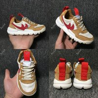 Soccer spring kids craft - 2017 Baby Tom Sachs x Craft Mars Yard TS NASA Joint Limited Original Quality Natural Sport Red Maple Kids Men Running Shoes Eur