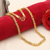 Collier manuel Bibcock 7mm Heavy MENS 24K REAL SOLIDE GOLD FINITION THICK MIAMI CUBAN LINK CHAINE COLLIER 55cm 56g