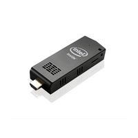 Vente en gros Original Intel W5 Dual OS MINI ordinateur PC Stick avec Windows 10 Android 4.4 RAM 2 Go de stockage 32 Go Bluetooth 4.0 Mini Smart TV Box