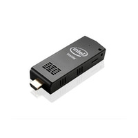 Wholesale Tv Mini Usb Stick - Wholesale Original Intel W5 Dual OS MINI PC Computer Stick with Windows 10 Android 4.4 RAM 2GB Storage 32GB Bluetooth 4.0 Mini Smart TV Box