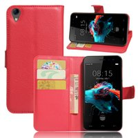 Wholesale Bags Skin Brand - Homtom HT16 Case 5.0 inch Luxury PU Leather Back Cover Case For HOMTOM HT16 Case Flip Protective Phone Bag Skin Funda