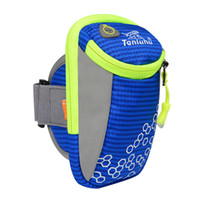 "Wholesale Comfort Arm - Wholesale-2016 Running Arm Bags 5"" To 6"" Cellphone Bags Outdoor Sport Package Climbing Bag Breathable Comfort Outdoor Hiking Arm Poke 339"