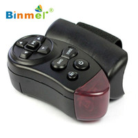 Wholesale Car Dvd Player Remote - Wholesale- 2017 New Universal Steering Wheel IR Remote Control For Car CD DVD TV MP3 Player high quality Feb27