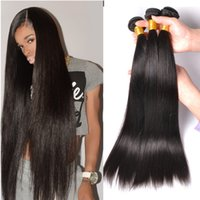 Brazilian Virgin Human Hair Weave Bundles Unprocessed Brazillian Indígena peruana Malaio Camboyano Straight Body Wave Remy Hair Extensions
