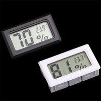 Wholesale digital thermometer temperature meter gauge for sale - Group buy FY11 FY Mini Digital LCD Indoor Convenient Temperature Sensor Humidity Meter Thermometer Hygrometer Gauge