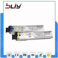 Wholesale Gigabit Sfp - Wholesale- SC connector gigabit 3km DDM BIDI mini gbic sfp module 1.25G Otdr optical tranceiver module for mikrotik cisco compatible