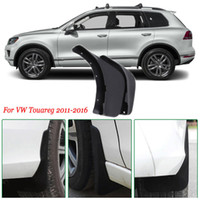 брызговики для автомобилей оптовых-4x передние / задние брызговики брызговики брызговики брызговики брызговики брызговики крыло автомобиля для VW Touareg 2011-2016