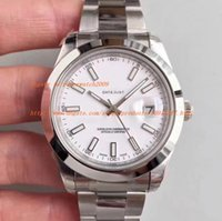 Wholesale Brand Selection - AAA factory 3 color selection Silver New Luxury Brand watch men dat - eujst Day-date Automatic Movement Mechanical Sapphire Glass Mens Watch