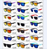 Wholesale spy sunglasses online - 21 Colors Unisex Brand Designer Spied Ken Block Helm Sunglasses Fashion Sports Sunglasses Oculos De Sol Sun Glasses Eyeswear DHL free