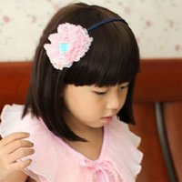 Wholesale Korean Babies Pictures Girls - Infant Kid Wigs Children Korean Baby Wig Girl Short Straight Synthetic Hair Picture Photography Show Wigs Child Lovely BOBO Hair