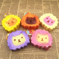 otter toys - Kawaii Otter Minifigures Head Squishy Key Ring Anti Autism and ADHD Time Killer Stress Reliever Kids Toys