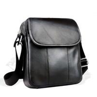 Wholesale Genuine Leather Cross Shoulder Bags - Wholesale- Genuine Leather Male Bags Vintage Men Messenger Bags Casual Men's Cross Body Shoulder Bag Men's Travel Bag bolsa XP488