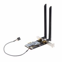 Wholesale Wireless Nic - Wholesale- Desktop Network Cards AC NIC 7265NGW 867M 2.4 5G BT4.0 PCI-E Wifi Card Personal Computer Wireless Network Cards T20