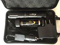 ingrosso torce elettriche-Ekaiou k20 XML T6 3800lm led Torce torce Zoomable Tactical Torcia luce della torcia con 18650 caricabatterie set scatole regalo