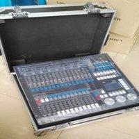dj ausrüstung freies verschiffen großhandel-Kostenloser Versand Mit Flightcase Kingkong 1024 Konsole Bühne Lichter DMX Controller DJ Controller DJ Ausrüstung
