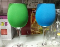 Wholesale Wholesale Coat For Sale - Wine Glass Koozie Goblet Covers Cup Coat Glass Wrapper for Cocktail Glass Home Decoration Hot Sale