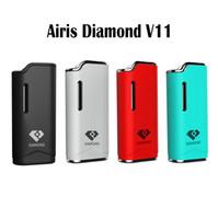 Wholesale black diamond oil - Airis Diamond V11 Kit Diamond V11 Vaporizer Kit 280mAh Auto Battery Mod Vape Pen Kits With G2 Thick Oil G2 Cartridges