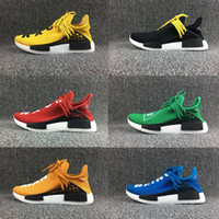 Wholesale New Table Tops - 2017 New SP Human Race Pharrell Williams X NMD Sports Running sneakers women Cheap top Athletic mens Outdoor Boost Training Sneaker Shoes