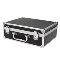 Wholesale Tattoo Carry Cases - Wholesale New Hot High Quality Large Tattoo Kit Carrying Black Colors Case with Lock free shopping