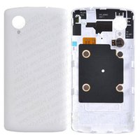 Wholesale Lg Nexus Housing - 50PCS New Back Cover Housing Battery Cover with NFC Replacement Parts for LG Nexus 5 D820 free DHL