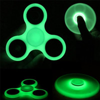 DHL Glow In the Dark ABS ri-Spinner Fidget Toy EDC Spinner à main Roulements rapides ADHD Childred Anxiety Stress Relief J-ZJ