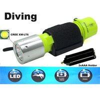 Torcia LED da immersione da 10000 lumen Mini Torcia portatile da luce con controllo magnetico T6 CREE Scuba Diving Equipment Torcia Super Brightest leggera