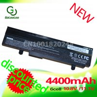 Wholesale Asus Batteries - Wholesale- Golooloo 4400mAh Black battery for Asus EEE PC 1011 1015 1016 1215 1015b 1015p A32-1015 A31-1015 AL31-1015 PL32-1015