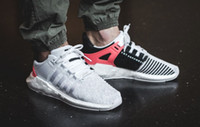 Wholesale Sneaker Sports Shoes - 2017 New Arrival Ultra Boost EQT Support Future Boost 93 17 White black pink Man women sport shoes Sneakers Running Shoes Size 36-44