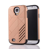 Wholesale S3 Silicone Plastic Case - 2in1 Shockproof Caseology Hard PC+Soft TPU Case For Galaxy Grand Prime G530 J2 J7 S3 I9300 S4 Note3 3 Ironman Defender Armor Hybrid Skin Box