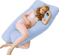 ingrosso donne gravide calde-All'ingrosso- Vendita calda gravidanza Confortevole tipo U cuscini Corpo cuscino per le donne incinte Best For Side Sleepers rimovibili