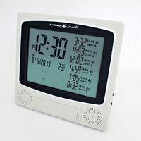 Wholesale Azan Alarm Clock - Wholesale-Islamic azan clock athan prayer clock Automatic Azan wall prayer clock with stand Fajr alarm.1150 citiesMuslim freeshipping