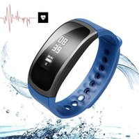 Wholesale IP67 Waterproof Smart Bracelet Wristband with Monitor Heart Rate Blood Oxygen Tracker Health Bluetooth Bracelet for IOS Android package