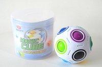 topa bastırma toptan satış-7 2yj Sihirli Top Küresel Küp Gökkuşağı Topları Futbol Bulmaca Çocuk Eğitici Oyuncaklar Küpleri Basın Hız Oyuncak Yaratıcı Sıcak Satış
