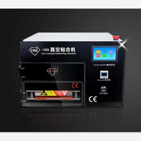 Wholesale Touch Screen Upgrade - TBK-508 Upgraded Intelligent 5 in 1 Touch Screen Panel LCD Vacuum OCA Laminating Machine with Bubble Remover dhl free shipping